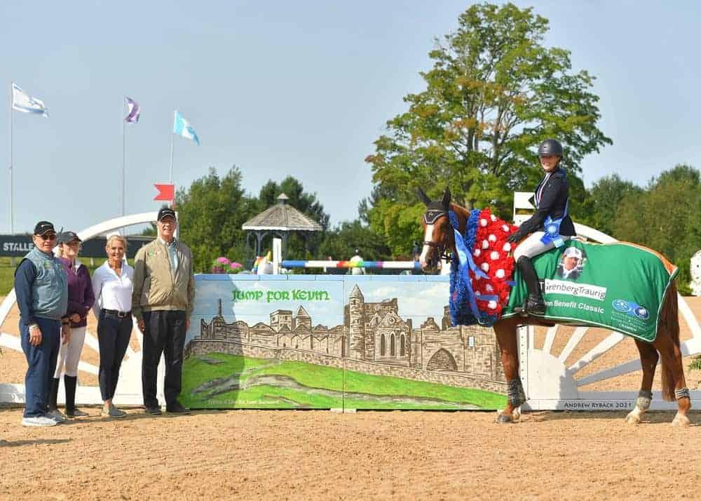 $5,000 Babington Benefit Class at The Silver Oak Jumper Tournament September 11, 2021